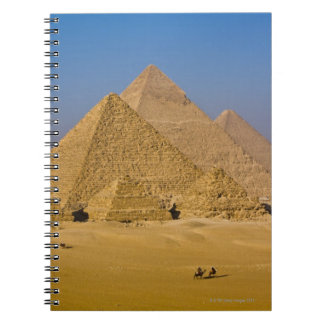 The Great Pyramids of Giza, Egypt Note Book
