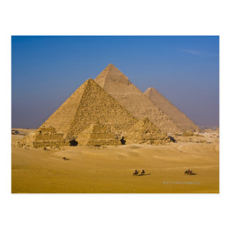 The Great Pyramids of Giza, Egypt Postcard