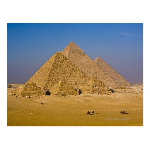 The Great Pyramids of Giza, Egypt Post Cards