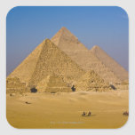 The Great Pyramids of Giza, Egypt Stickers