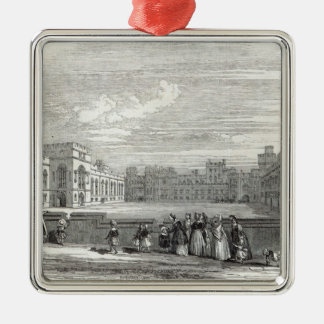 The Great Quadrangle, Windsor Castle Christmas Ornament