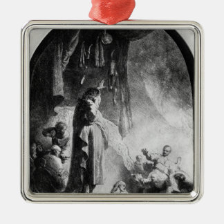 The Great Raising of Lazarus Christmas Ornament