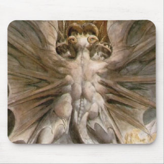 The Great Red Dragon Mouse Pad