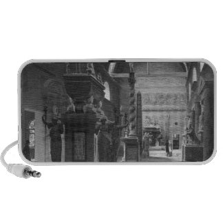 The great room of the Musee des Monuments iPod Speaker