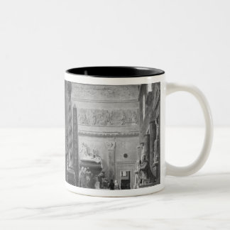 The great room of the Musee des Monuments Two-Tone Coffee Mug