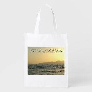 The Great Salt Lake Re-use Grocery Bag