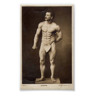The Great Sandow Poster
