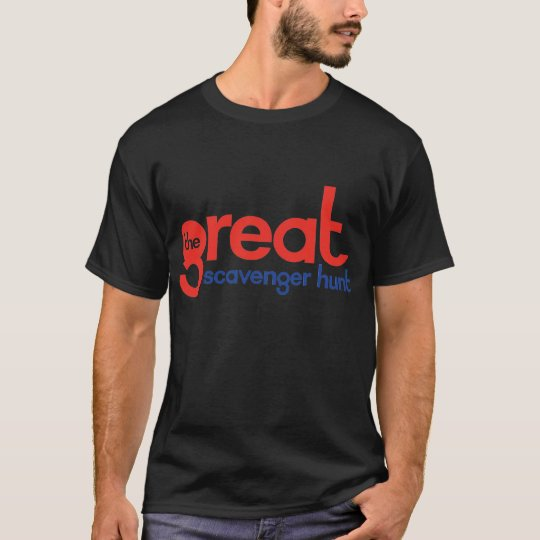 The Great Scavenger Hunt Black T-Shirt