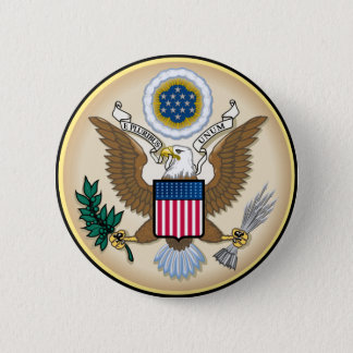 The Great Seal 6 Cm Round Badge