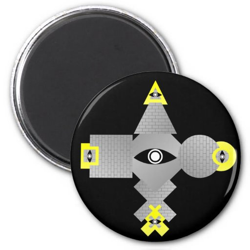 The Great Seal Fridge Magnet