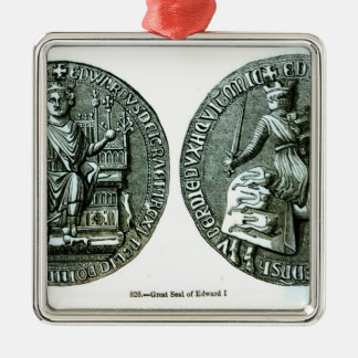 The Great Seal of Edward I Christmas Ornament