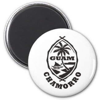 The great seal of Guam Magnet