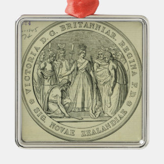 The Great Seal of New Zealand Christmas Ornament