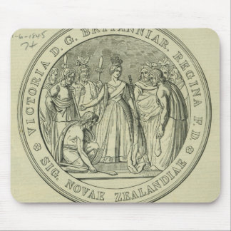 The Great Seal of New Zealand Mouse Mat