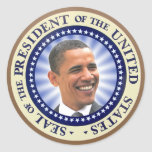 The Great Seal of Obama Sticker