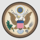 The Great Seal (original) Round Sticker