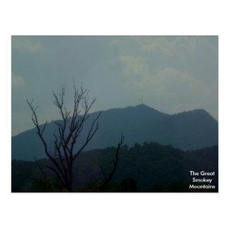 The Great Smokey Mountains Postcard