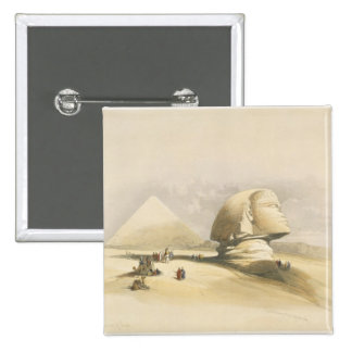 """The Great Sphinx and the Pyramids of Giza, from """"E Button"""