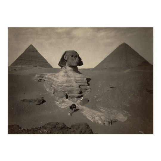 The Great Sphinx of Giza, Egypt - Poster