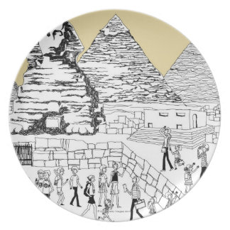 The Great Sphinx Plate