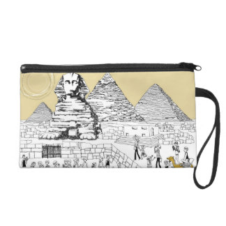 The Great Sphinx Wristlet