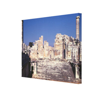 The Great Staircase of the Temple of Apollo Canvas Print