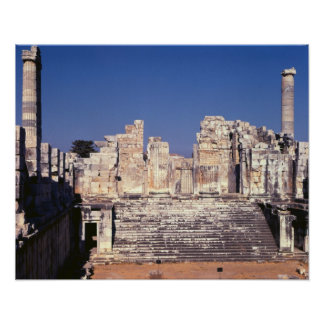 The Great Staircase of the Temple of Apollo Poster