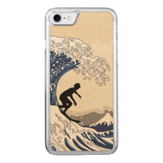 The Great Surfer of Kanagawa Carved iPhone 8/7 Case