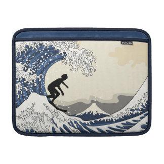 The Great Surfer of Kanagawa MacBook Air Sleeve