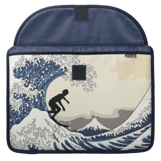 The Great Surfer of Kanagawa MacBook Pro Sleeves