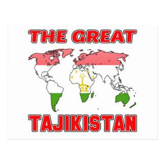 The Great TAJIKISTAN. Postcard