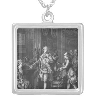 The Great Toilette Silver Plated Necklace