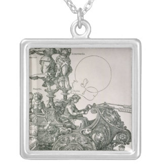 The Great Triumphal Chariot' Silver Plated Necklace