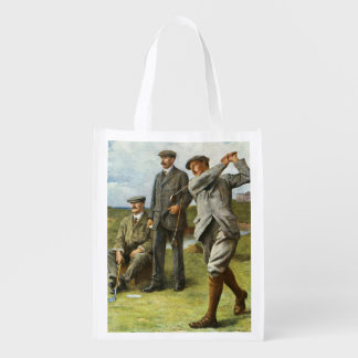 The Great Triumvirate Reusable Grocery Bag