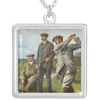 The Great Triumvirate Silver Plated Necklace