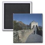 The Great Wall, Beijing, China Fridge Magnet