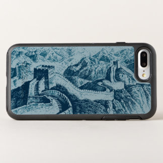 The Great Wall in Blue OtterBox Symmetry iPhone 8 Plus/7 Plus Case
