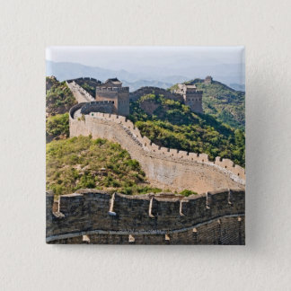 The Great Wall of China 15 Cm Square Badge