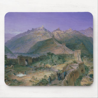 The Great Wall of China, 1886 (w/c) Mouse Mat