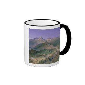 The Great Wall of China, 1886 (w/c) Ringer Mug
