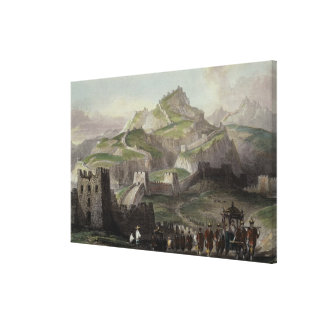 The Great Wall of China, from 'China in a Series o Canvas Print