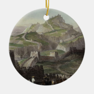 The Great Wall of China, from 'China in a Series o Christmas Ornament