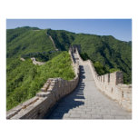 The Great Wall of China in Beijing, China