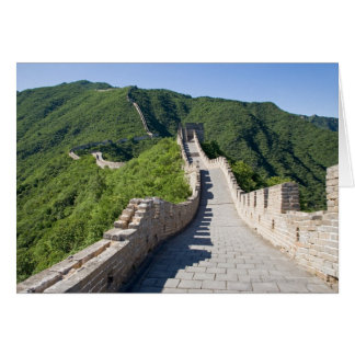 The Great Wall of China in Beijing, China Card