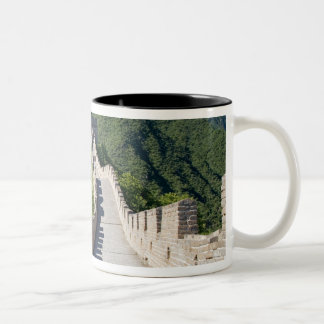 The Great Wall of China in Beijing, China Two-Tone Coffee Mug