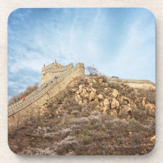 The great wall of China outside Beijing Drink Coasters