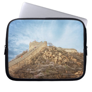 The great wall of China outside Beijing Laptop Sleeve