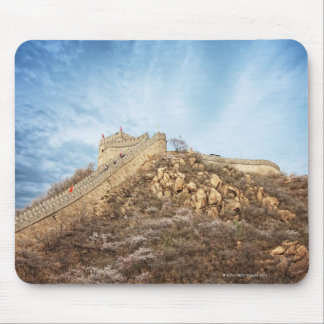 The great wall of China outside Beijing Mouse Mat