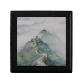 The Great Wall of China Small Square Gift Box