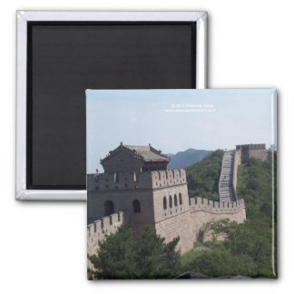 The great wall of china souvenier magnet
